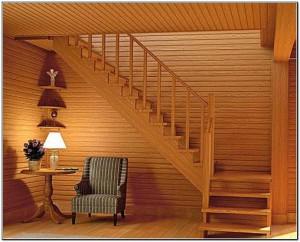 Сделать лестницу на второй этаж дачного домика своими руками 637