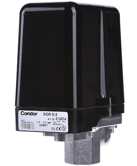 Реле давления Condor MDR5/8
