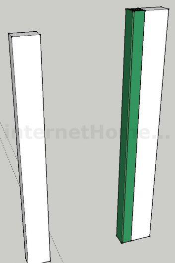 Пристенок из гипсокартона