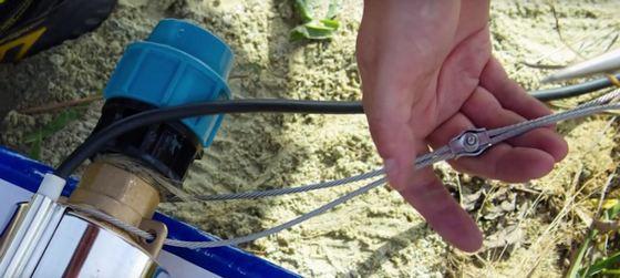 Выбор страховочного троса для скважинного насоса
