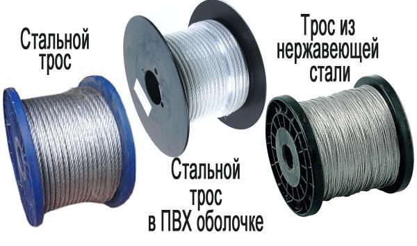 стальной трос
